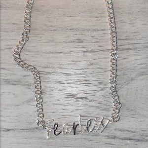FEARLESS neckless